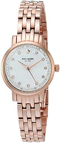 Kate Spade Mini Monterey Damen-Armbanduhr 24mm Armband Edelstahl Quarz KSW1243