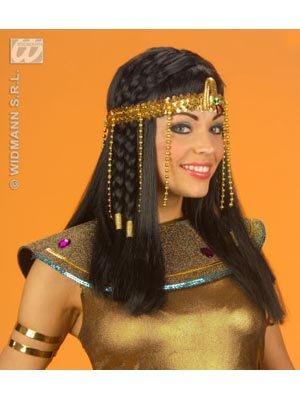 Cleopatra: Schlangenstirn-+Armband (Pailletten Cleopatra Kostüm)