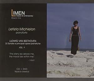 LUDWIG VAN BEETHOVEN - 32 Sonate e principali opere pianistiche - VOL. 1 - CD+DVD