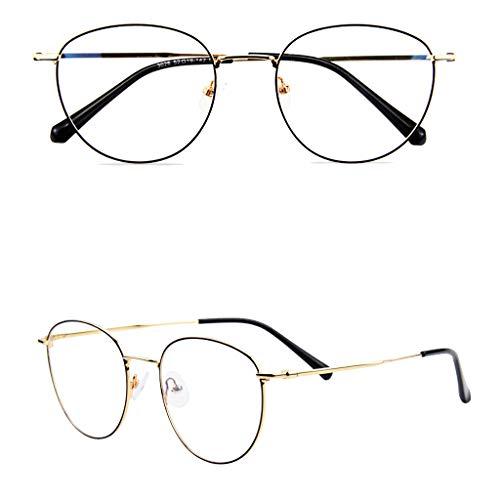 Axclg Reading glasses Photochrome Lesebrille mit Lupe, Ferne und nahe HD-Brillen mit doppeltem Verwendungszweck, Vollformat-Leser mit runder Unisex-Legierung
