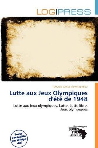 Lutte Aux Jeux Olympiques D' T de 1948