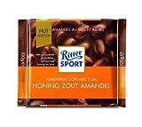 Ritter Sport Honig Salz Mandel 100gr / 3,53 Unzen x11