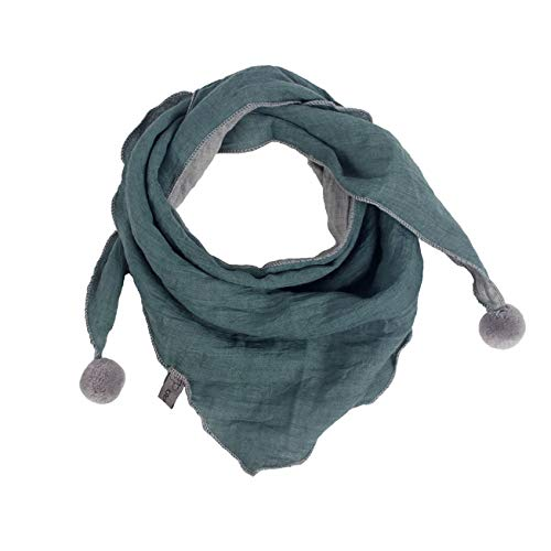 Sciarpa bambini invernali,moda caldi accessori per bambini ragazzi ragazze bambini sciarpe collo sciarpe o scialle sciarpa triangolo medio spesso di colore solido casuale (taglia unica, b)