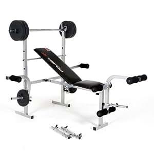 Hammer Power XT Weight-Bench - Für ein hocheffektives Ganzkörpertraining! Training für eine voluminöse Brust, mega Schultern, breiten Rücken und für eine beeindruckende Beinmuskulatur