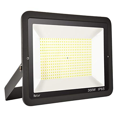 300W LED Foco exterior alto brillo Proyector led exterior de impermeable IP65,Blanco...