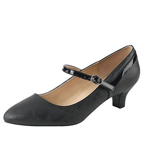 Heels-Perfect , Hi-Top Slippers femme Schwarz (Schwarz)