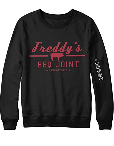 Sweatshirt Freddy`s BBQ Joint House of Cards H549340 Schwarz M