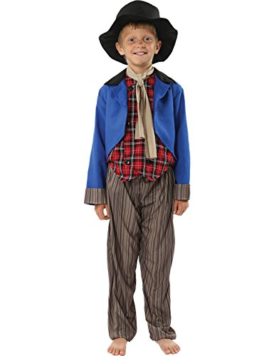 Artful Dodger Kostüm Oliver Twist Fasching Verkleidung Kinder (Artful Kostüm Kind's Dodger)