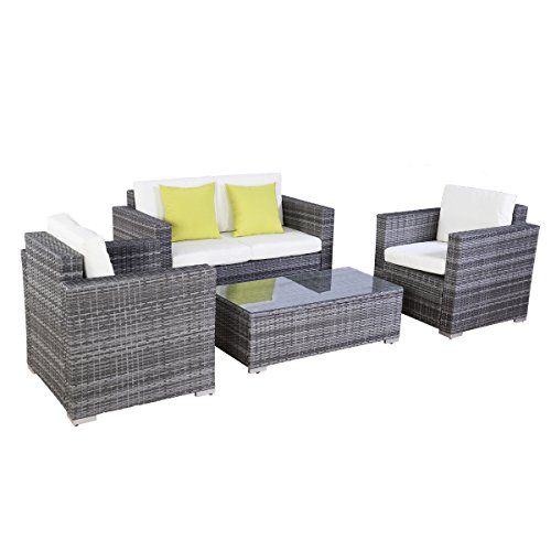 Lounge Gartenmöbel poly ratten lounge gartenmöbel rattan lounge set garnitur
