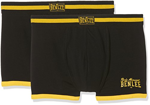 BENLEE Rocky Marciano Herren Montello Boxershorts, Black, L (Unterwäsche Joe Boxer)