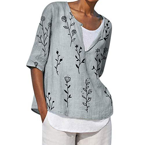Nerd Kostüm Für Essentials Ein - TOPSELD T Shirt Damen, Plus Size Women V-Ausschnitt Printing Mittel T-Shirts Einfach,Tops Blusen