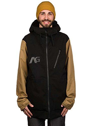 Analog Snow Jackets - Analog AG Greed Snow Jacket - Putty True Black
