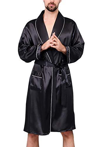 AIEOE - Pijama Abierta Hombre Primavera Mangas Largas
