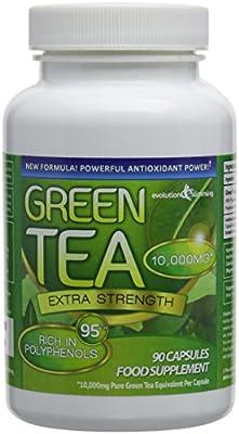 Evolution Slimming 10000mg Green Tea - Pack of 90 Capsules by Evolution Slimming