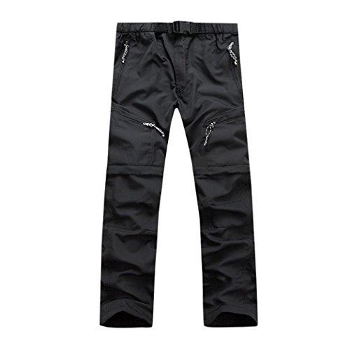Pantalon Imperméable Détachable Mince D'Été à Séchage Rapide pour Homme Malloom