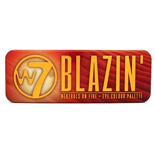 W7 Blazin' Neutrals on Fire Eye Shadow Colour Palette