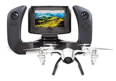 UDI U28-1 FPV Quadcopter Drone with HD Camera, 4 Inch LCD Display Screen and Battery