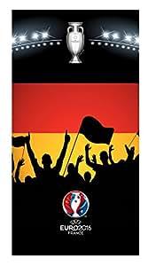 UEFA EURO 2016 Fußball EM Europa Fanmeile BADETUCH SAUNA HANDTUCH 75x150cm NEU