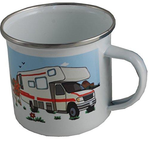 Dreamair Motor Home Gift Enamel Mug