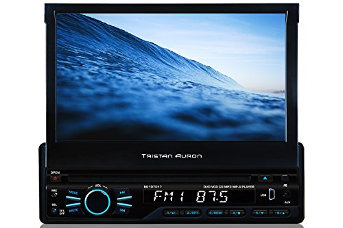 Tristan Auron BT1D7007A Autoradio | 7,0'' Touchscreen | Navi Europa | Freisprechfunktion | USB/SD-Slot | CD/DVD | 1 Din