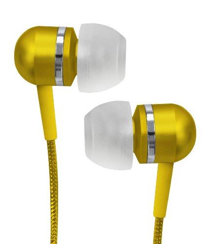 Coby Jammerz Platin Hochleistungs-Isolation Ohrhörer - Gelb (CVEM79YL) -