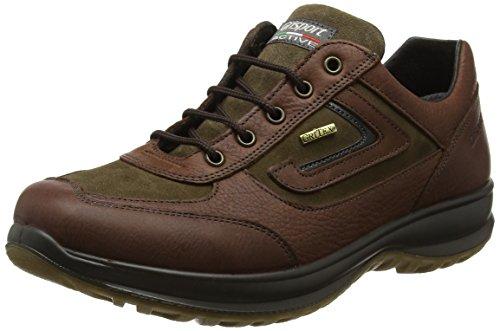 Grisport thurso, scarpe da arrampicata basse uomo, marrone (brown), 44 eu
