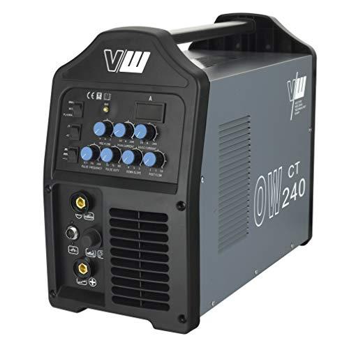 Vector Schweißgerät DC WIG OW240 Puls Inverter Mit plasma WIG ARC MMA STICK Elektrode