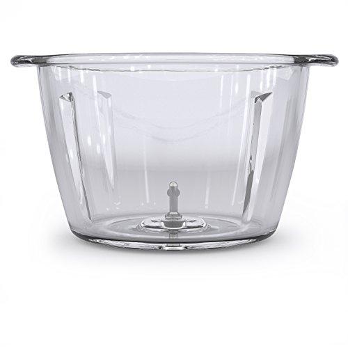 WMF Kult X Edition Zerkleinerer, mit Glasbehälter, 320 W, 2 Geschwindigkeitsstufen, cromargan matt/silber