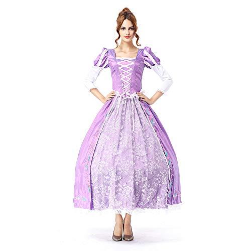 Lady Halloween Kleid Queen Princess Rock Bühne Kostüm (einschließlich großer - Damen Fairy Queen Kostüm