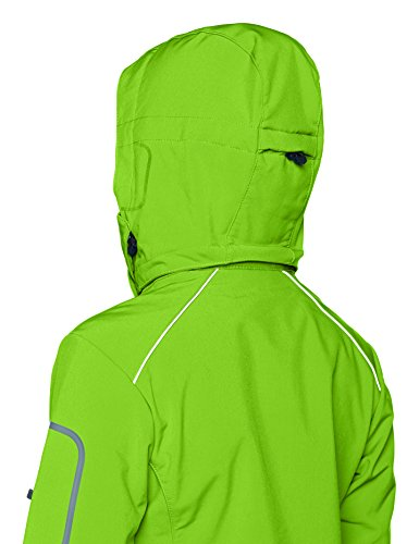 CMP - Giacca Softshell, Donna Verde (Mint/Caribe)