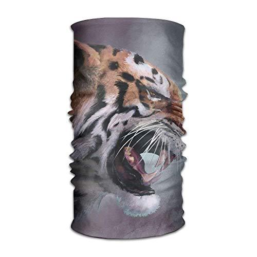 tianjianzulinyouxiangongsi Headwear Headband Tiger Rage Head Scarf Wrap Sweatband Sport Headscarves for Men Women -