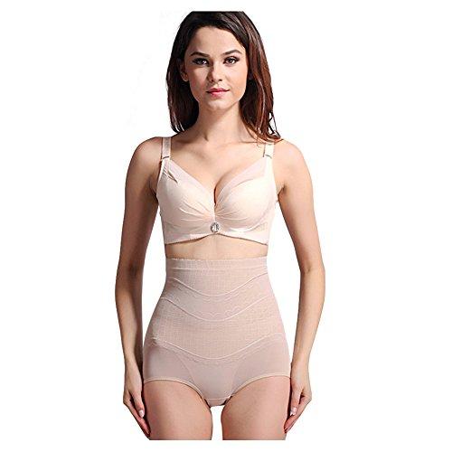 Surker Mesdames taille haute postpartum Corset Body Pantalons Sous-v¨ºtements de mise en forme nu
