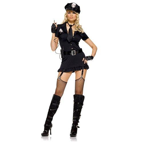 (Generique - Sexy Polizistinnen-Kostüm für Damen)