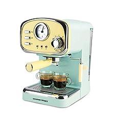 """Lieben Sie auch das volle Aroma von frisch gebrühten Kaffee-Spezialitäten, wie sie beim Italiener oder in Coffee Shops von den """"Baristas"""" zubereitet werden? Gönnen Sie sich diesen Genuss jetzt jeden Tag bei Ihnen zu Hause! Ob aromatischer Espresso, k..."""