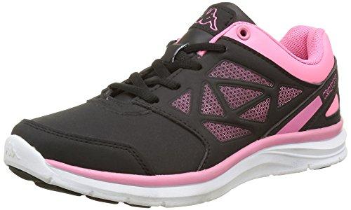 kappa-fanger-pu-multisport-outdoor-fille-noir-952-black-warm-pink-35-eu