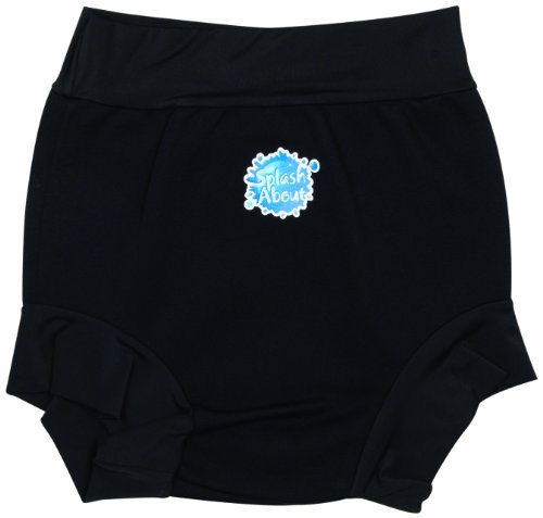 Splash About Kids Splash Swimming Shorts - Black, Child medium (53cm waist)