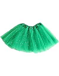 hombre elegante y elegante baratas para descuento Amazon.es: falda tul niña - Verde / Bebé: Ropa