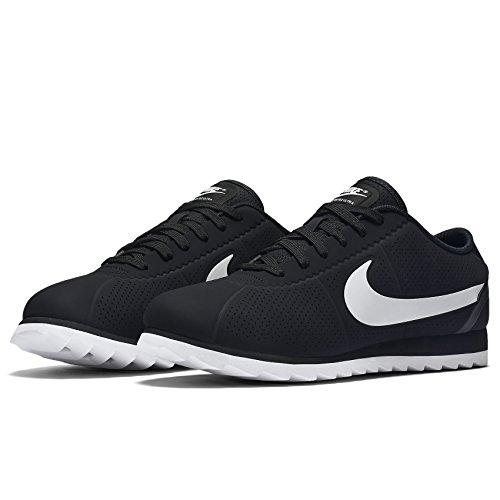 Nike Unisex-Erwachsene W Cortez Ultra Moire Laufschuhe Schwarz / Weiß