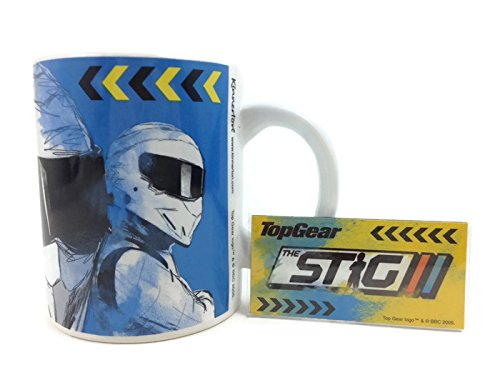 "Price comparison product image Original Classic Top Gear UK The Stig Mug"" More Machine Than Man"" (Limited Edition w/Fridge Magnet)"
