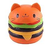 Squishy hamburguesa gato