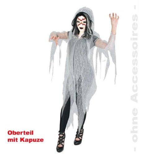 Geist Halloween 1tlg. mit Kapuze Vampir Dracula Unisex 1tlg. Gr: XL