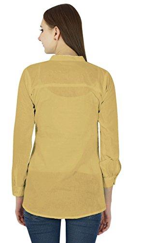 Coton Top Robe Boho Porter Vêtements Robe D'Été Tunique Casual Brun clair