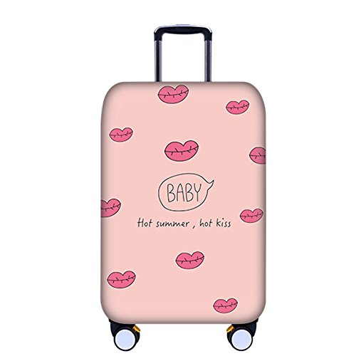 """Deylaying Creativo Stampare Valigia Copertina Zipper Bagaglio Baggage Protettore Addensare Elastico 18-32"""""""