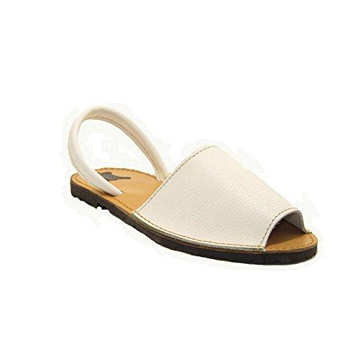 15090 - Sandalias ibicencas Blanco 38