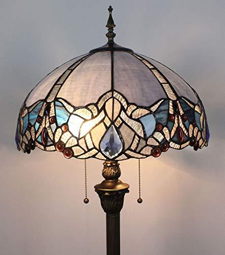 Gweat Tiffany Lampadaire Baroque Simple Salon Lampe De Chevet Lampadaire Classique Luxe Atmosphérique