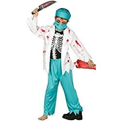 Disfraz de Doctor zombie infantil talla 5-6 años