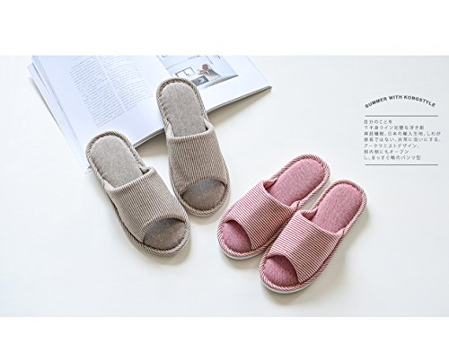 Lijeer Hausschuhe Damen Plüsch Memory Foam Waschbare Frottee Slipper Rutsche Indoor Pantoffeln Slides Blue horizontal