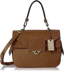 Stella Ricci Women's  Handbag (Brown) (SR149HBRW)
