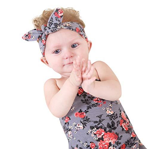 mer Neugeborenes Baby Decke mit Stirnband Floral Baby Shower Swaddle Geschenk erhalten Siamesische Haber Tasche Entspricht Strampler Jumpsuit Kleidung Süß Freizeit Overall Hosen ()