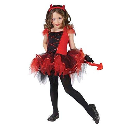 Jcyanz Weihnachten Cosplay Fantasie Karneval-Maskerade-Kleid-Halloween-Kostüm Kind Prinzessin Katzen-Hexe Vampir-Mädchen-Kind-Kind (Maskerade Kostüm Kinder)